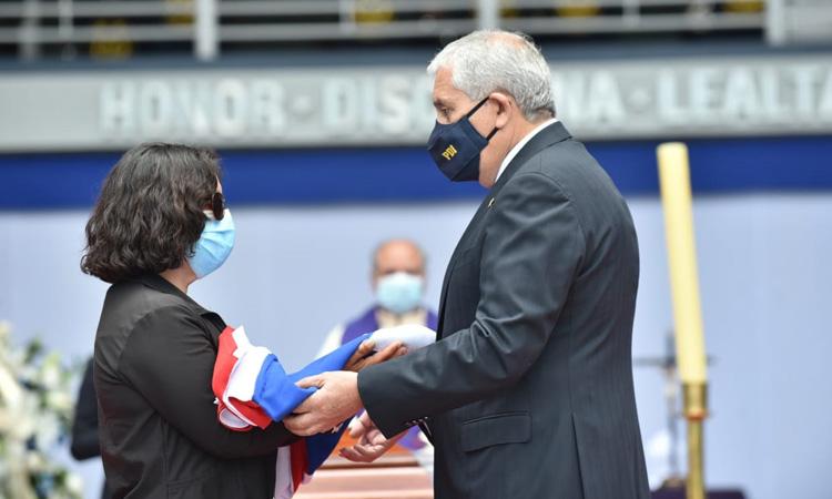 Último adiós al héroe Luis Morales Balcázar