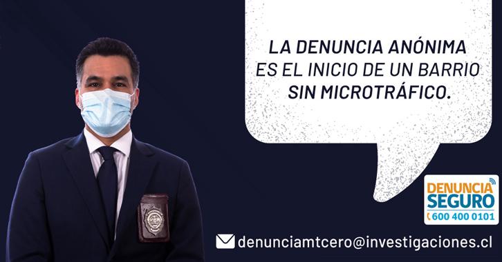 Microtráfico Cero: Tu denuncia es el inicio