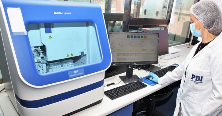 Laboratorio de ADN: tecnología de punta en Iquique