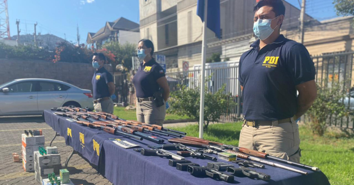 Cooperación Internacional contra Tráfico de Armas