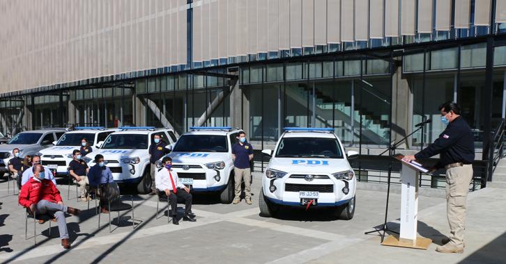 Región Policial de Los Ríos renueva sus vehículos