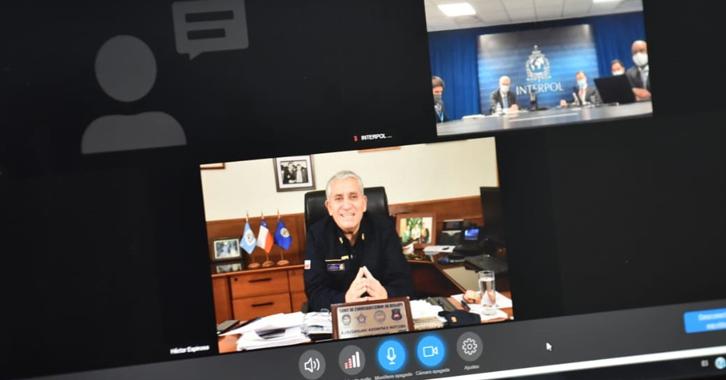 Reunión regional de Interpol abordó la pandemia