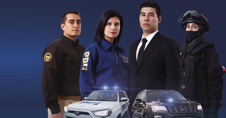 Postula al Curso de Asistentes Policiales 2021
